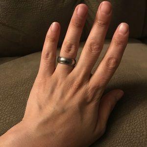 Tungsten ring size 7.